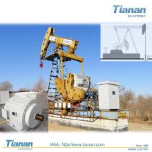 API Unidad de bombeo de haz de pozos de petróleo Unidad de alto voltaje Estructura compacta Motor eléctrico para producción de petróleo