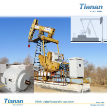 API Oil Well Beam Pumping Unit High Voltage Compact Structure Electric Motor for Oil Production