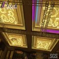 Fashion and Decoracive Squre Gold Ceiling Light with Lobby