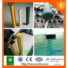Alibaba ISO9001 puesto de la cerca para la venta / poste temporal de la cerca / postes decorativos de la cerca