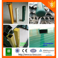 Alibaba posto de vedação ISO9001 para venda / poste de vedação temporária / postes de vedação decorativos