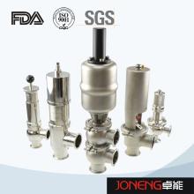 Vanne sanitaire pour équipement alimentaire en acier inoxydable (JN-FDV2010)