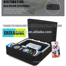 Freesub newest ST-2030 3d mini film phone case printing machine