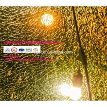 Luzes internas da corda do diodo emissor de luz do RGB da decoração do Natal do casamento impermeável do feriado com a tomada da UE dos EU
