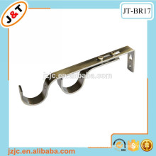 double curtain rod wall bracket