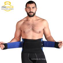 Verstellbare Taille Trimmer Lendenwirbel Gürtel Rückenstütze