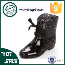 дождь сапоги женщины дамы модные ботинки дождя