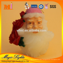 Christmas Occassion and Yes Handmade Santa Claus Candle