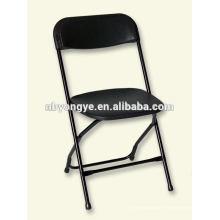 Chaise pliante en plastique en acier banquet en banquet