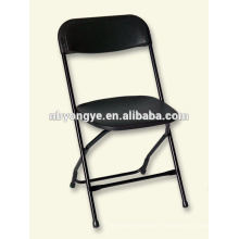 Banquet wedding steel plastic folding chair at party