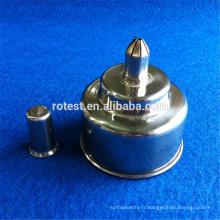 lampe à alcool en acier inoxydable