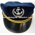 Navy marine cotton embroidery sailor captain cap hat