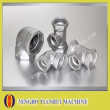 stainless steel pipe fittings with precision casting
