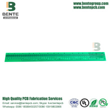 1Layer PCB FR4 TG135 Low Cost PCB Óleo de carbono