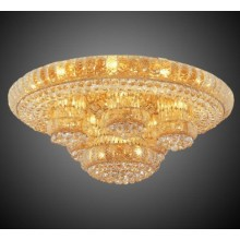 Wholesale Price for Crystal Ceiling Chandelier Living room Crystal Ceiling lamp fixture hotel lamp supply to Indonesia Factories