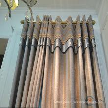 Porte rideau d'écran modèle jolie et chaude vente design de mode rideaux frangés