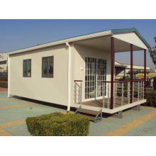 2 Slope Small Vacation Prefab House with Good Price