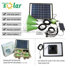Neue CE portable solar Notbeleuchtung mit led-Lampen für Heim Notfall lighting(JR-SL988)