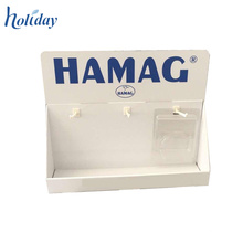 Cardboard Peg Hook Counter Display For Accessories