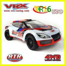2014 nuevo producto!!! piezas de metal rc RTR coches, 1/16 eléctrico cepillado coche rc.