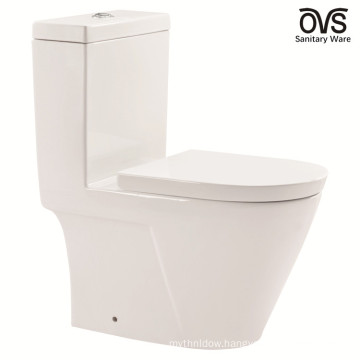 Ceramic Siphonic S-Trap One Piece American Standard Toilet