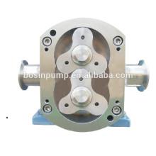 Bombas giratórias de aço inoxidável para transferência de líquidos em suspensão com sólidos macios