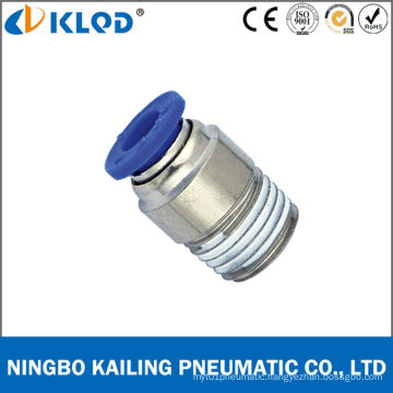 Pneumatic Round Male Straight One Touch Fittings for Air Poc8-01