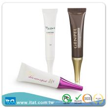 Crema cosmética de crema blanqueadora de ojos de tubo de plástico blando