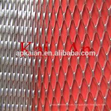 0,05 de espesor, 1X2 mm de aluminio expandido malla / batería malla / aluminio de la batería de malla / malla de cobre / malla de cobre de la batería