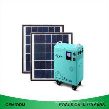 15W Ac Ausgang 110V 220V Off Grid tragbare Solar-Kits Portable Solar Generator