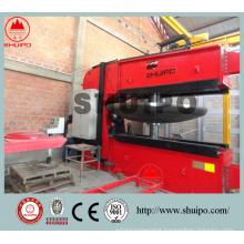 High efficiency of CNC Tank Head Spinning Machine in 2016
