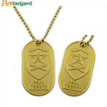 Personalised Dog Tags Men's With Embossed Logo