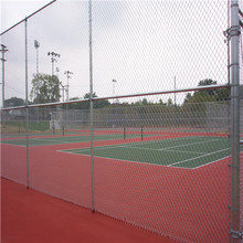 Pvc Coated Midlertidig Chain Link Fencing