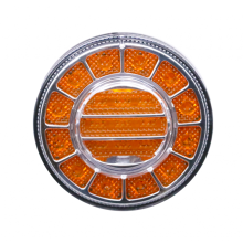 Rodada LED Truck Bus Indicador Turn Light