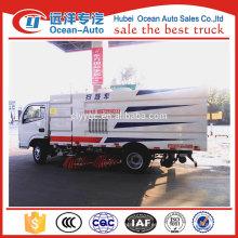 China proveedor dongfeng barredora camión, camión barredora de carretera a la venta