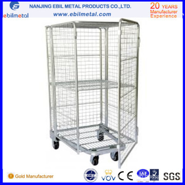 Container with Caster of Storage Racking System