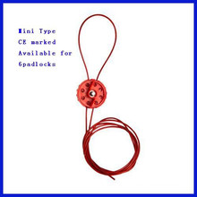 Nylon &Metal Cable Mini Type cable lockout C14