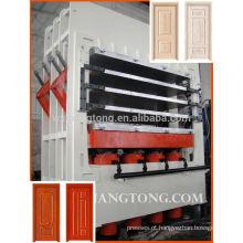 Máquina de prensagem a quente de folheado HDF / Máquina de prensas a quente laminada de porta