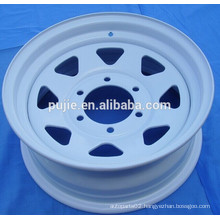 Car spar part 6x139.7 trailer steel wheel