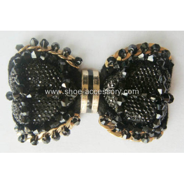 Luxury Cubic Glamorous Clip Women`s Shoe Clips Charms Ornaments