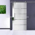 Puerta de ducha de vidrio de burbujas Super septiembre de compras con hardware de acero inoxidable