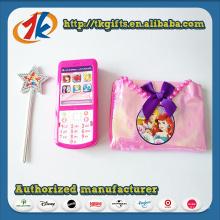 Горячая Продажа мини Пластиковые Телефон игрушка с волшебной палочкой и сумка игрушка