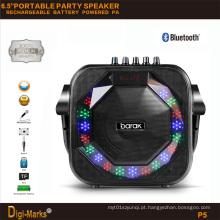 Móvel portátil sem fio USB FM mini Bluetooth multimídia ativo alto-falante