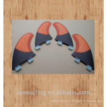 Nouvel an en fibre de carbone FCS Futur Planche de surf / Ailerons de surf au détail