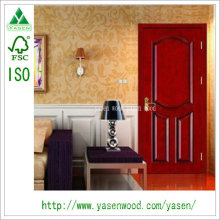 Raised Panel Entry Finished Paiting Wooden Doors