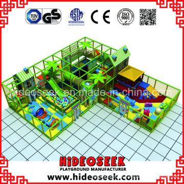 Indoor Naughty Castle para niños con trampolín y piscina