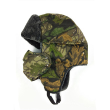 Promotion cycling plaid plush lei feng trooper hats outdoor bomber trapper hat with ear flaps