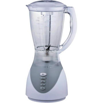 white plastic jar blender
