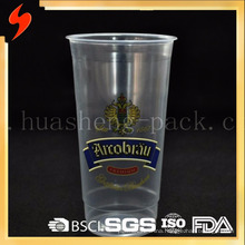 Eco friendly plastic disposable Beer Cup