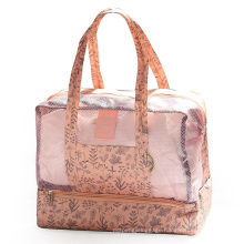 Dry and Wet Separation Men′ S and Women′ S Waterproof Bag Large Capacity Beach Bag